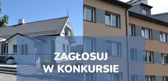 """Biblioteka w Jarzębiej Łące oraz budynek komunalny na os. Borki walczą o głosy w konkursie """"Modernizacja Roku""""!"""
