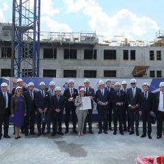 Akt Erekcyjny rozbudowy Szpitala w Wołominie
