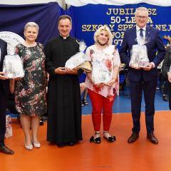 Uroczystości z okazji jubileuszu 50-lecia istnienia Zespołu Szkół Specjalnych w Wołominie