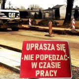 Roboty drogowe w al. Jana Pawła II potrwają. (Co najmniej do końca sierpnia… lub lata)