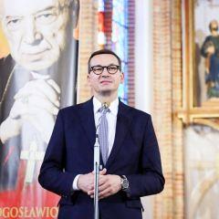 Premier Morawiecki na obchodach 120. rocznicy urodzin Kardynała Stefana Wyszyńskiego w Zuzeli