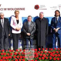 Uroczysta inauguracja budowy hospicjum dla dzieci w Wołominie z udziałem Pierwszej Damy RP