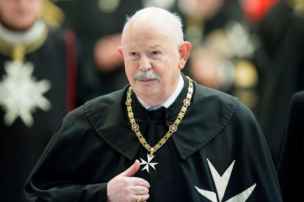 PREMINUO VELIKI MAJSTOR MALTEŠKOG REDA: Fra Đakomo je bio 80. princ a u ovaj viteški red je primljen 1985. godine
