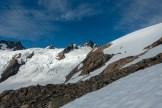 Looking toward the summit.