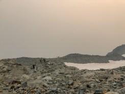 Descending out of sahale camp