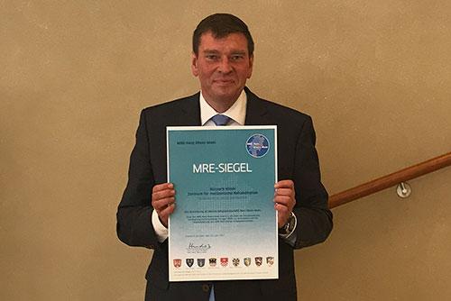 MRE-Auszeichnung der Kurpark-Klinik