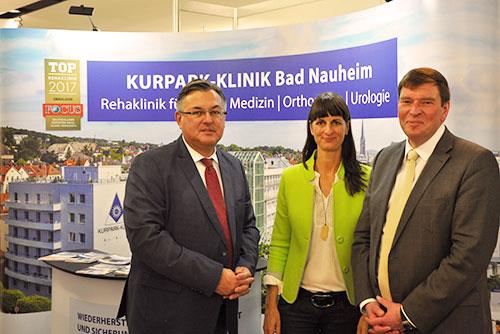 Gesundheitsstadt Bad Nauheim erfolgreich in Düsseldorf präsentiert