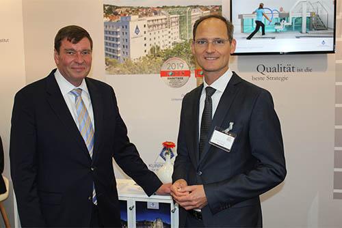 Kurpark-Klinik zusammen mit der DEGEMED auf dem Hauptstadtkongress in Berlin