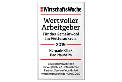 """Siegel """"Wertvoller Arbeitgeber"""" Wirtschaftwoche"""