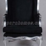 Kursi Grandfather Black Silver VC053