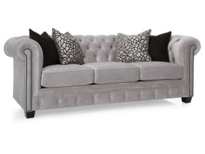 Sofa Chesterfield Putih
