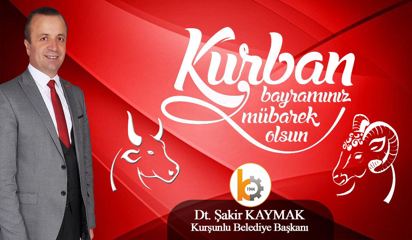 Belediye Başkanımız Dt. Şakir KAYMAK Kurban Bayramı dolayısıyla bir mesaj yayımladı.