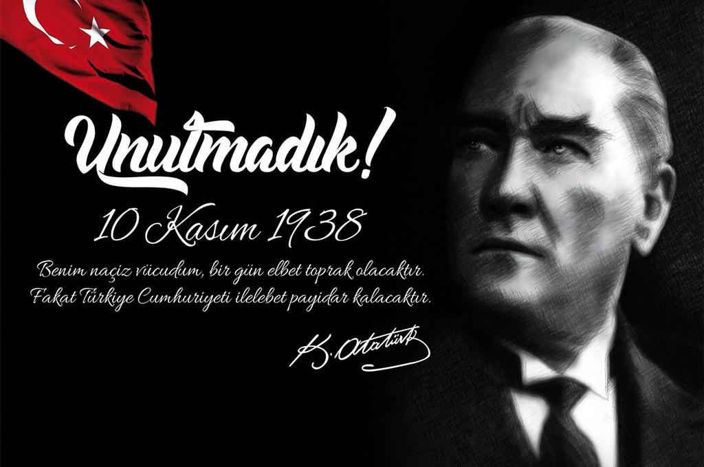 Başkan KAYMAK'tan 10 Kasım Mesajı