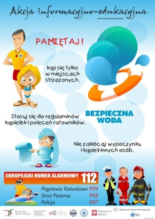 """Letnia edycja akcji """"Bezpieczna Woda"""""""