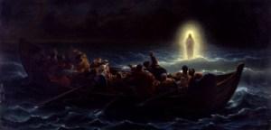 Amédée_Varint_-_Christ_marchant_sur_la_mer