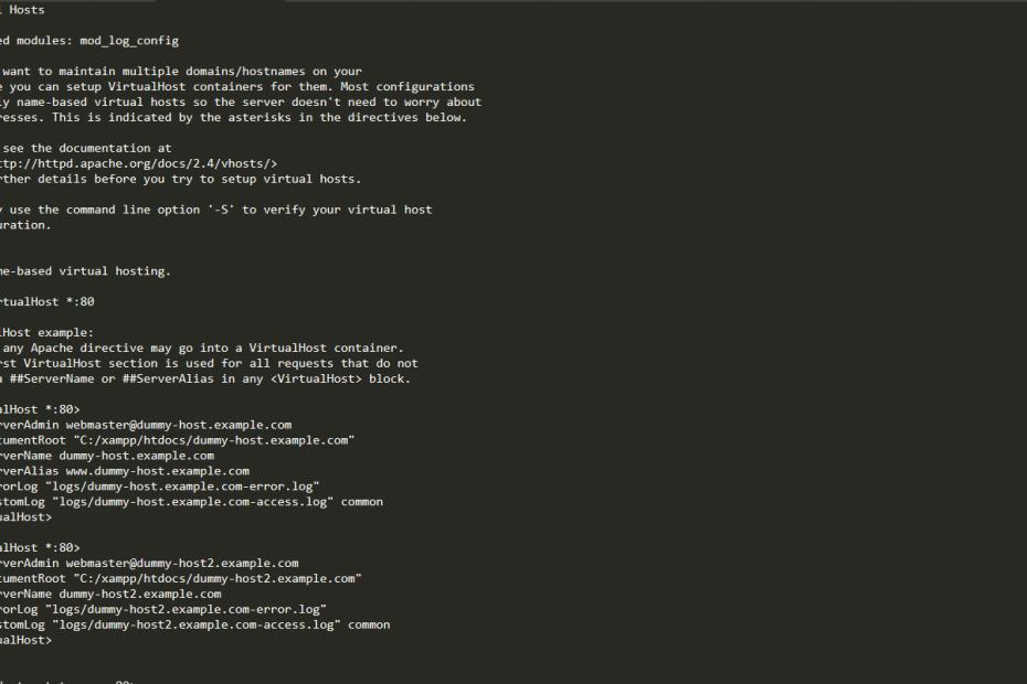 virtual hosts example