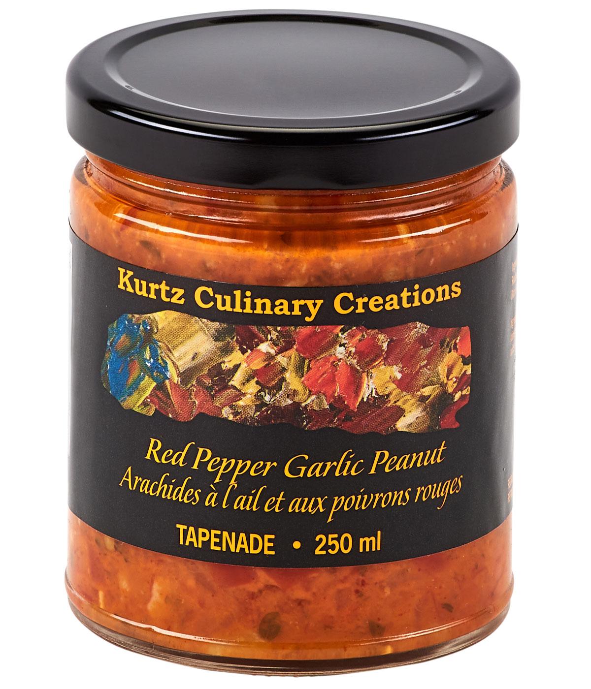 Red Pepper Garlic Peanut