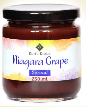 Niagara Grape Curd