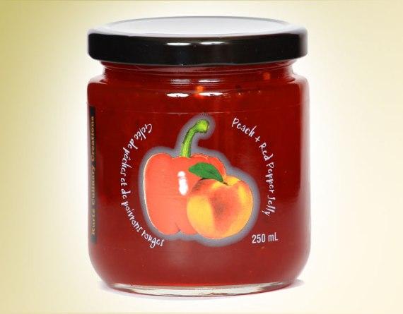 Peach Red Pepper Jelly
