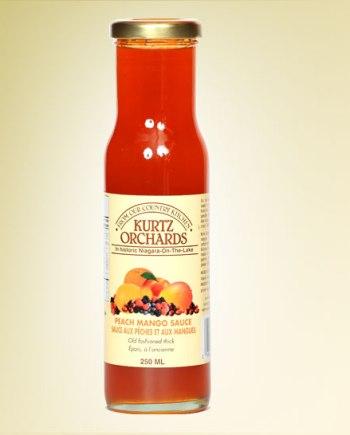 Peach Mango Sauce