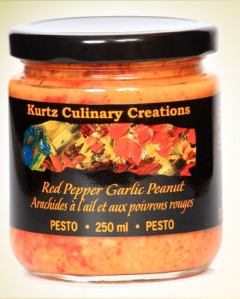 Red Pepper Garlic Peanut