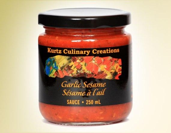 Garlic Sesame Tapenade