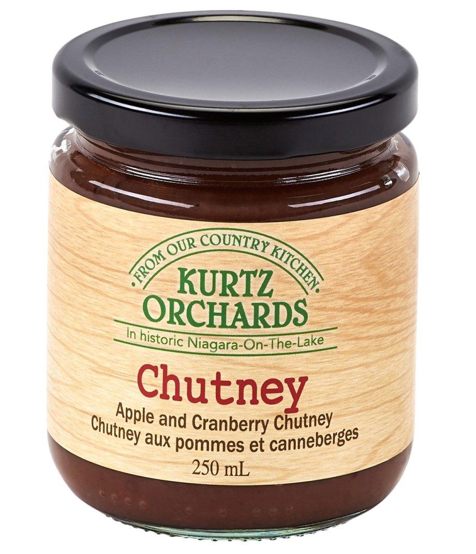 Apple and Cranberry Chutney