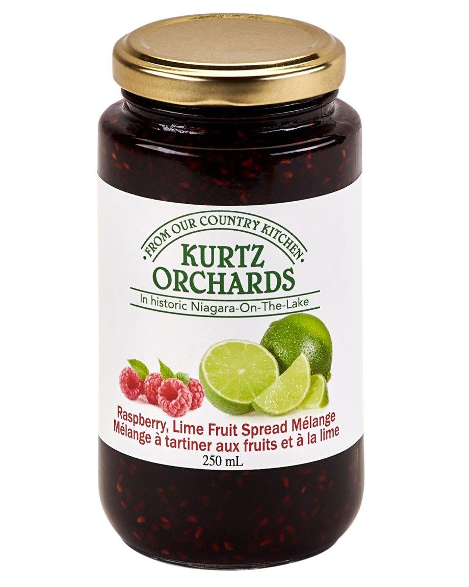Raspberry Key Lime Spread Melange