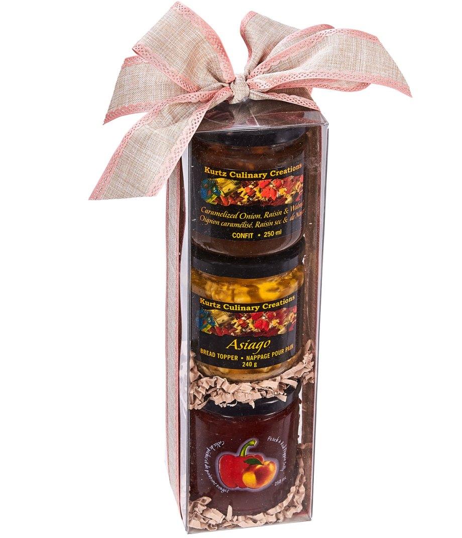 Savoury Artisan Trio: Gift Box