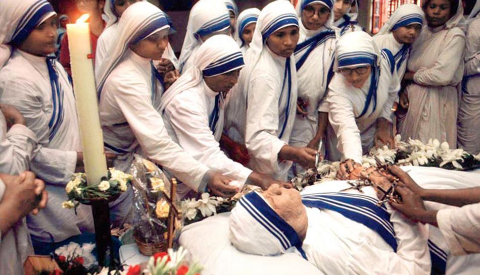 Image result for Mother Teresa died