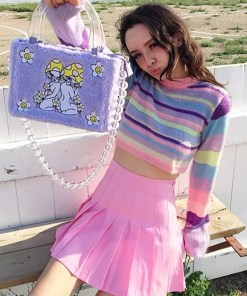 Colorful Pastel Sweater