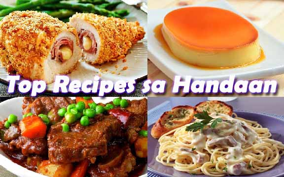 Top Recipes sa Handaan