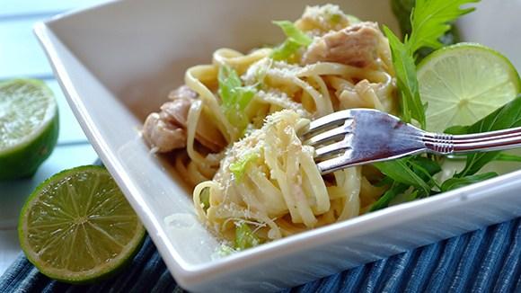 Easy Tuna Carbonara Recipe
