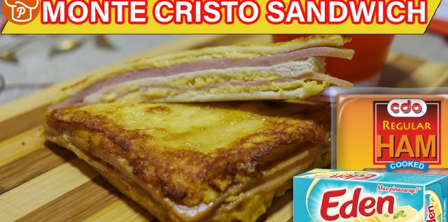 How to Make Monte Cristo Sandwich (Pinoy-Style)