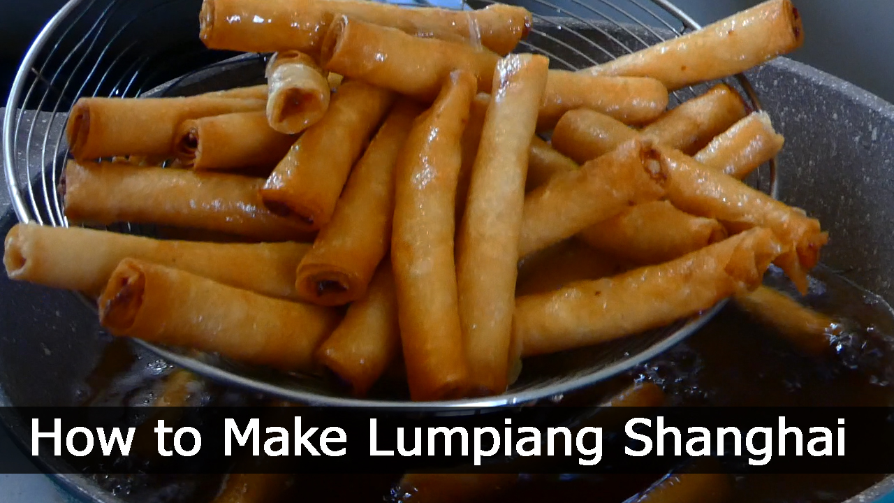 How to Make Lumpiang Shanghai/Negosyo Recipes