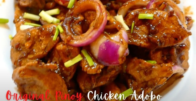 How to Cook Original Filipino Chicken Adobo without Vinegar