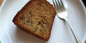 Banana Cake Slices (no butter used)