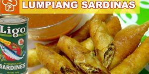 How to Cook Lumpiang Sardinas with Sawsawan (Sardine Spring Rolls with Dipping Sauce)