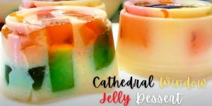 How to Make Cathedral Window Jelly Dessert