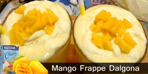 How to Make Mango Frappe Dalgona