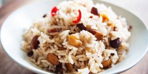 Coconut Pilaf Recipe