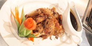 Crispy Chicken With Peking Sauce Recipe