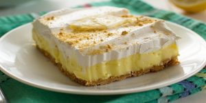 Lemon Cheesecake Pudding Recipe