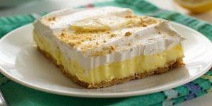 Lemon Cheesecake Pudding Recipe