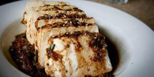 Warm Tofu (W/ Garlic Sauce and Sesame) Recipe