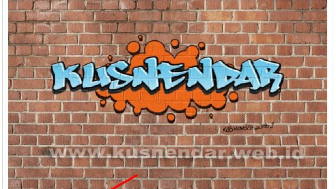 Membuat tulisan graffiti online untuk dp bbm android kusnendar