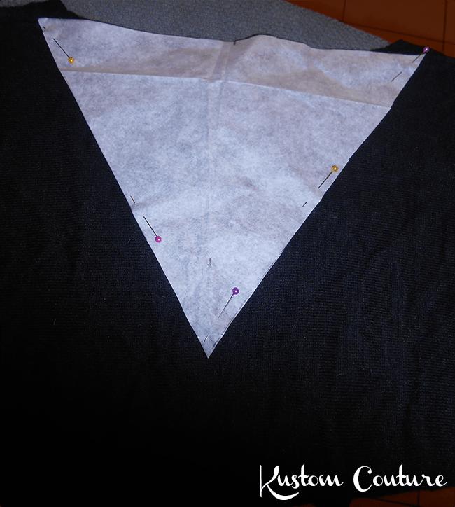 DIY Pull avec noeud | Kustom Couture