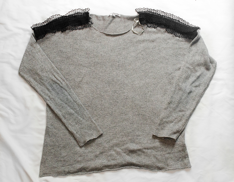 DIY Pull avec ruban | Kustom Couture
