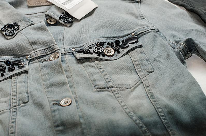 DIY Veste en jean tie & die - Kustom Couture