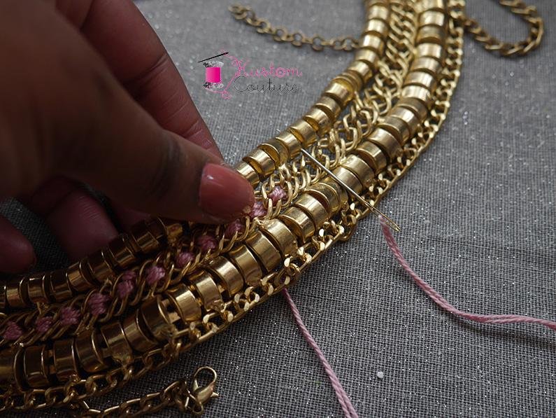 DIY Collier XXL   Kustom Couture